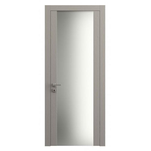 Дверь Planum 4114 Ясень Серый Тёмный верт