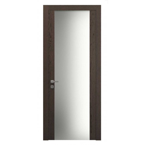 Дверь натуральный шпон 4114 Дуб Табачный верт