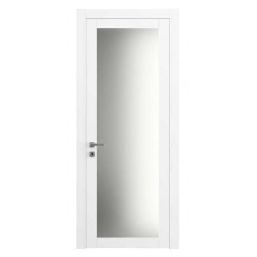 Дверь 2102 Матовая Белоснежная