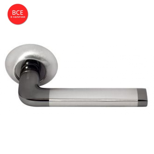 Дверная ручка Morelli DIY MH-03 SN/BN Белый никель