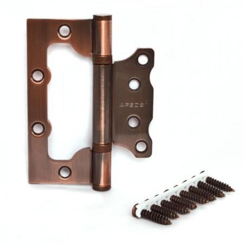 Петля Аpecs 100*75 -2.5-B2-Steel-АC медь