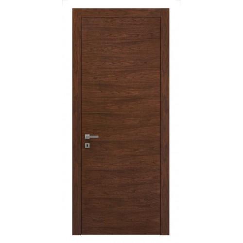 Дверь натуральный шпон 0010 Орех Бренди горизонт