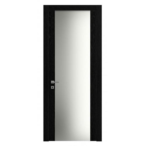 Дверь Planum 4114 Ясень Чёрный верт