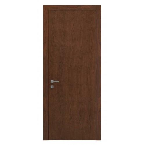 Дверь натуральный шпон 0010 Орех Бренди верт