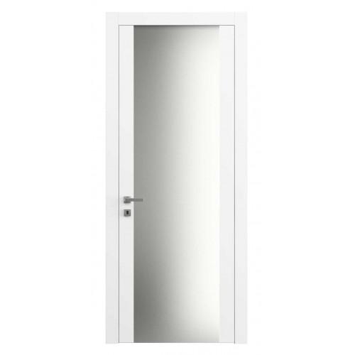 Дверь 4114 Матовая Белоснежная