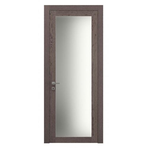 Дверь натуральный шпон 2102 Дуб Дымчатый верт
