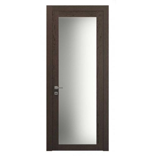 Дверь натуральный шпон 2102 Дуб Табачный верт