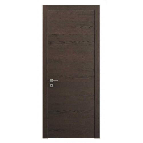 Дверь натуральный шпон 0010 Дуб Табачный горизонт