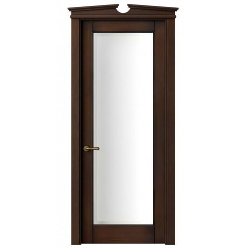 Дверь Toscana Plano 6300 Бук темный с патиной