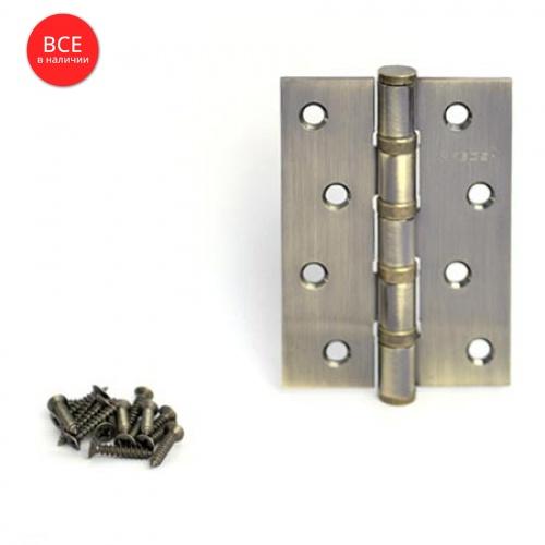 Петля Аpecs (ун.) 100*70 -B4-Steel-АВ ант.бронза