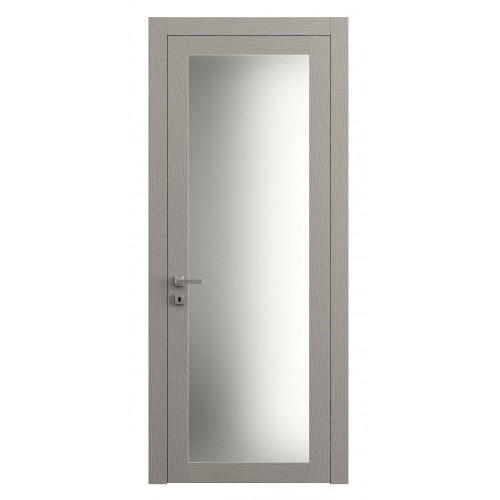 Дверь Planum 2102 Ясень Серый Тёмный верт