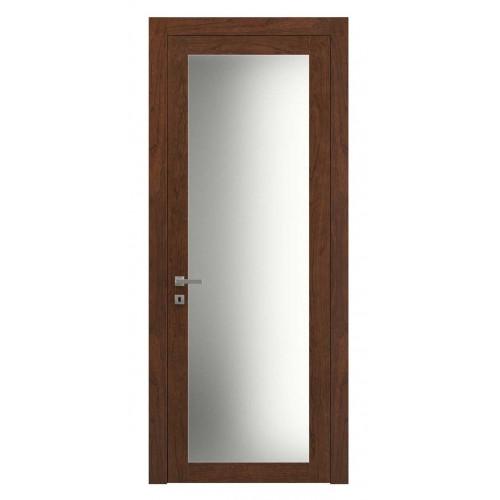 Дверь натуральный шпон 2102 Орех Бренди верт