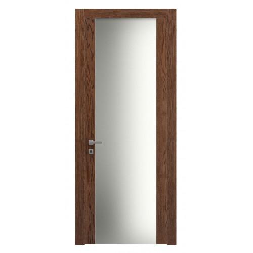 Дверь натуральный шпон 4114 Дуб Коньяк верт