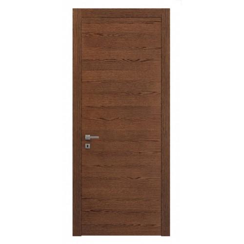 Дверь натуральный шпон 0010 Дуб Коньяк горизонт