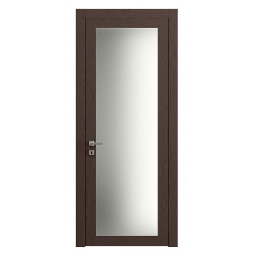 Дверь Planum 2102 Ясень Шоколад верт