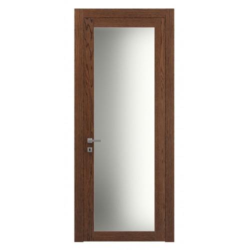 Дверь натуральный шпон 2102 Дуб Коньяк верт