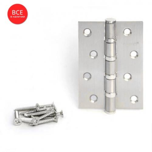 Петля Аpecs (ун.) 100*70 -B4-Steel-NIS сатин