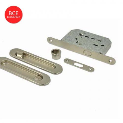 Комплект для раздв.дверей 01 BK SN с фикс.
