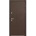 Двери с терморазрывом Снегирь 60 MP TS-2/горячий шоколад