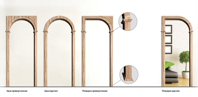 двери арочные в Оренбурге